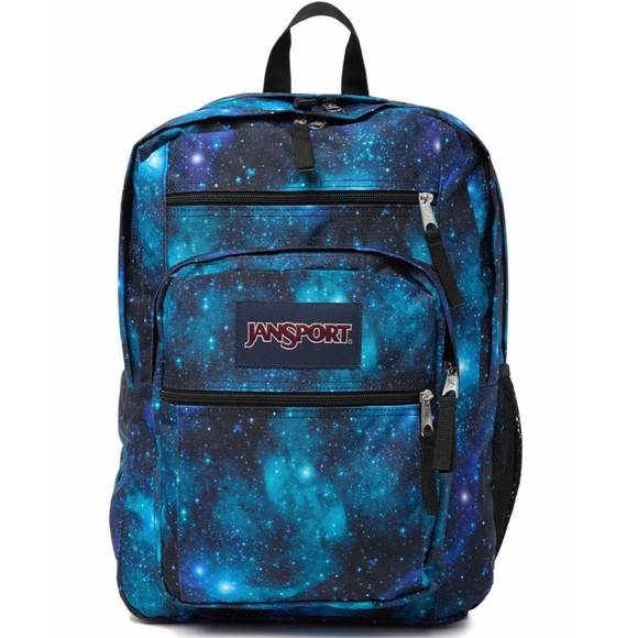50% price lovely luster Discover Jansport Big Student Galaxy Backpack NWT